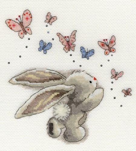 Bothy Threads Butterflies - Bebunni cross stitch kit