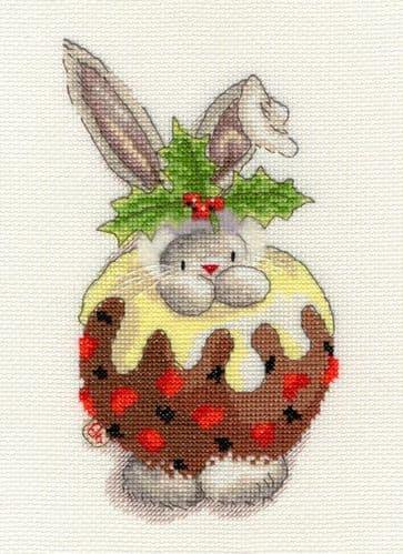 Bothy Threads Christmas Pudding - Bebunni cross stitch kit
