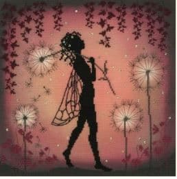 Bothy Threads Dandelion Fairy cross stitch kit