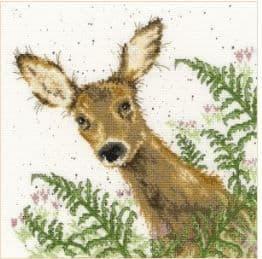 Bothy Threads Doe a Deer - Hannah Dale cross stitch kit