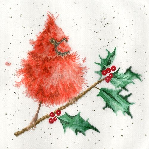 Bothy Threads Festive Feathers - Hannah Dale cross stitch kit