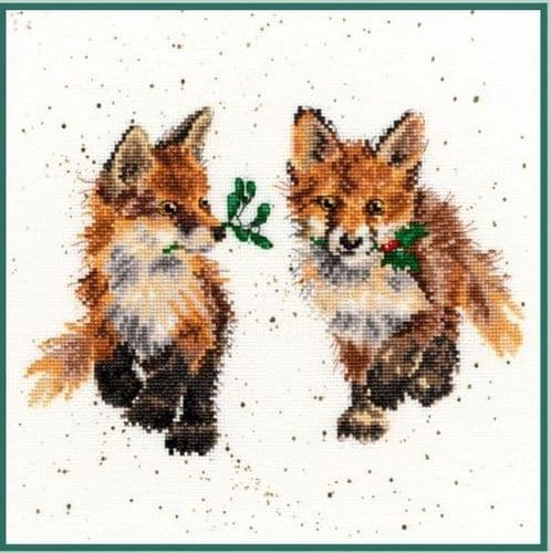 Bothy Threads Glad Tidings - Hannah Dale cross stitch kit