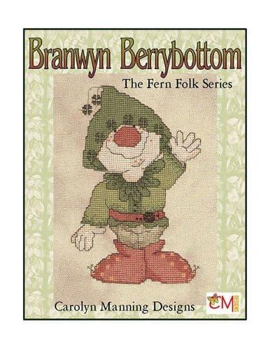 Carolyn Manning Designs Branwyn Berrybottom - The Fern Folk series printed cross stitch chart