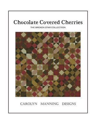 Carolyn Manning Designs Chocolate Covered Cherries printed cross stitch chart