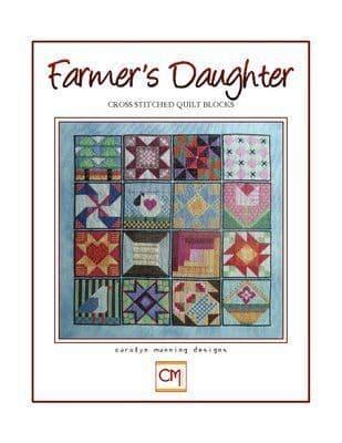 Carolyn Manning Designs Farmer's Daughter printed cross stitch chart