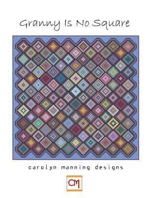Carolyn Manning Designs Granny is No Square  printed cross stitch chart
