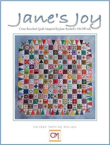 Carolyn Manning Designs Jane's Joy printed cross stitch chart