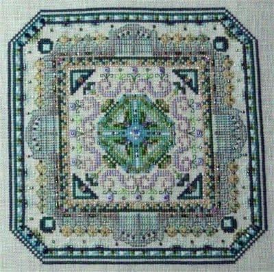 Chatelaine Mini Mandala Mystery 01 cross stitch chart