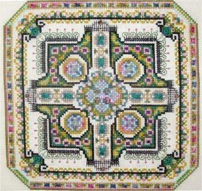 Chatelaine Mini Mandala Mystery 02 cross stitch chart