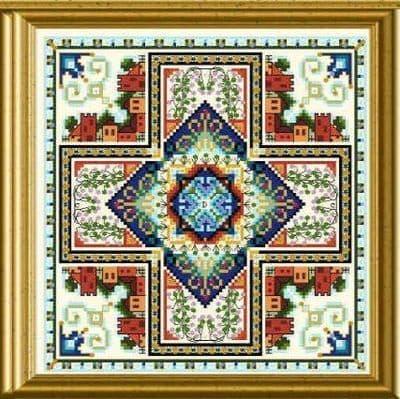 Chatelaine Mini Mandala Mystery 03 cross stitch chart