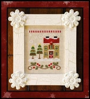 Country Cottage Needleworks Christmas Tree Farm - Santa's Village cross stitch chart