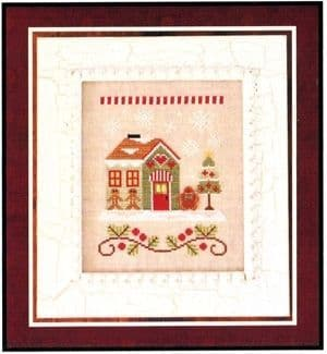 Country Cottage Needleworks Gingerbread Emporium - Santa's Village cross stitch chart
