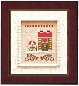 Country Cottage Needleworks Hot Cocoa Cafe - Santa's Village cross stitch chart