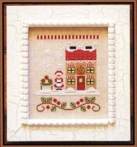 Country Cottage Needleworks Mrs Claus Cookie Shop - Santa's Village cross stitch chart