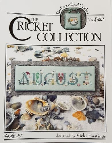 Cricket Collection August cross stitch chart