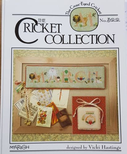 Cricket Collection March cross stitch chart