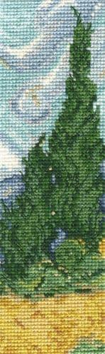 DMC A Wheatfield Bookmark cross stitch kit