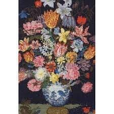 DMC Bosschaert A Still Life of Flowers cross stitch kit
