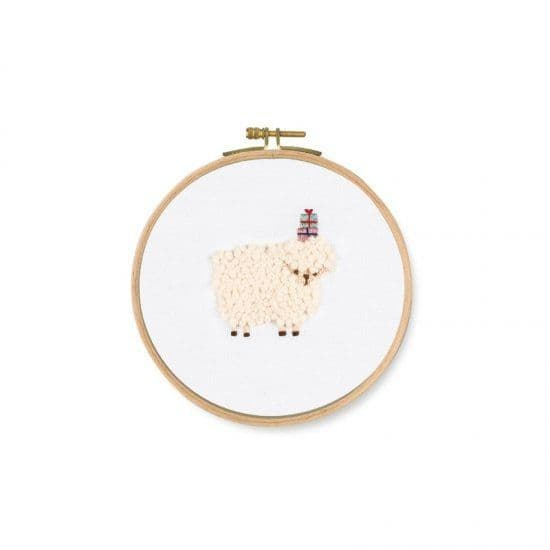 DMC For You! Sheep embroidery kit
