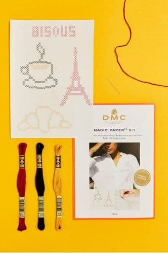 DMC French Collection Cross Stitch Magic Paper Kit