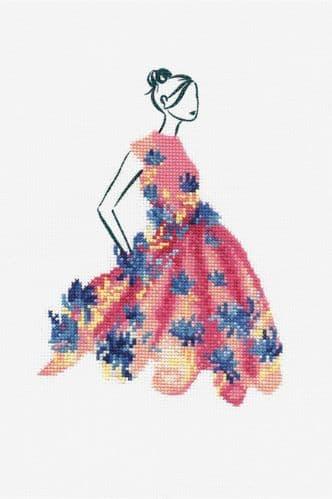 DMC  Party Pink cross stitch kit