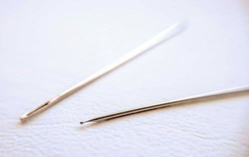 Easy Guide Ball-Tipped Needle Size 28