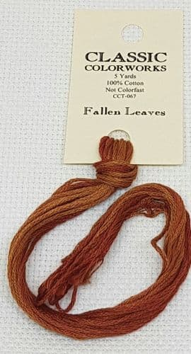 Fallen Leaves Classic Colorworks CCT-067