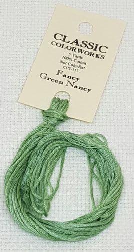 Fancy Green Nancy Classic Colorworks CCT-117