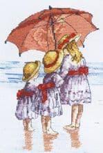 Faye Whittaker 3 Girls cross stitch kit