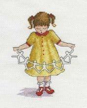 Faye Whittaker Dolly Chain cross stitch kit