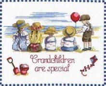 Faye Whittaker Grandchildren are Special cross stitch kit
