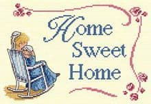 Faye Whittaker Home Sweet Home cross stitch kit