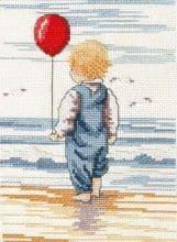 Faye Whittaker Little Blondie cross stitch kit