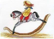 Faye Whittaker Rocking Horse cross stitch kit