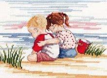 Faye Whittaker Sibling Love cross stitch kit