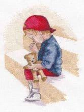 Faye Whittaker The Naughty Step cross stitch kit