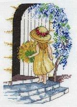 Faye Whittaker Wisteria cross stitch kit