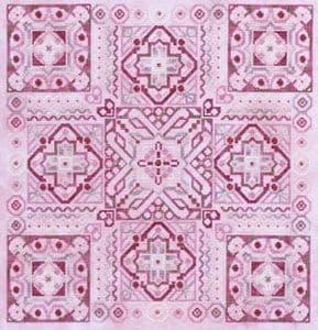 Glendon Place Cherries Jubilee A-Maze-ing Dessert Collection cross stitch chart