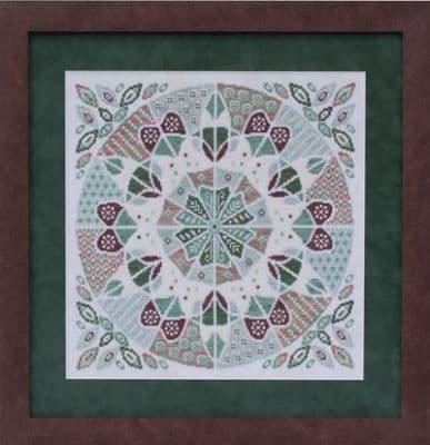 Glendon Place Fudgy Mint Mousse A-Maze-ing Dessert Collection cross stitch chart