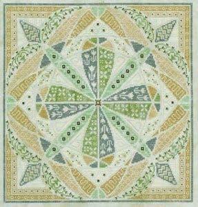 Glendon Place Grasshopper A-Maze-ing Dessert Collection cross stitch chart