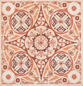 Glendon Place Pumpkin Swirl Amaze-ing Dessert Collection cross stitch chart
