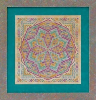 Glendon Place Rainbow Parfait A-Maze-ing Dessert Collection cross stitch chart
