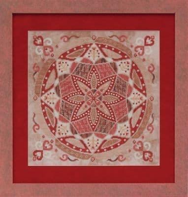 Glendon Place Red Velvet Cake A-Maze-ing Dessert Collection cross stitch chart