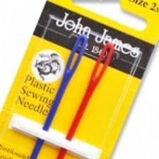 John James Plastic Sewing Needles - Blue/Red