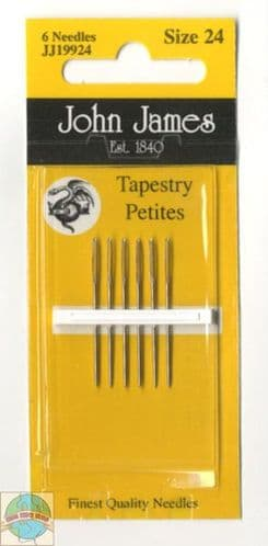 John James Tapestry Petites needles - size 24