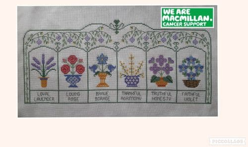 Lakeside Needlecraft M'Lady's Sweet Greenhouse PDF cross stitch chart & kit options