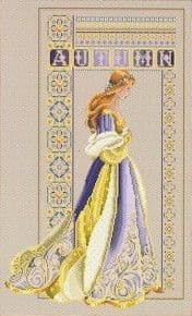 Lavender & Lace Celtic Autumn cross stitch chart