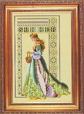 Lavender & Lace Celtic Summer cross stitch chart