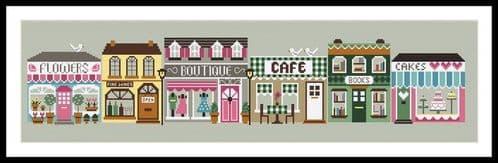 Little Dove Designs Little Dove High Street printed cross stitch chart