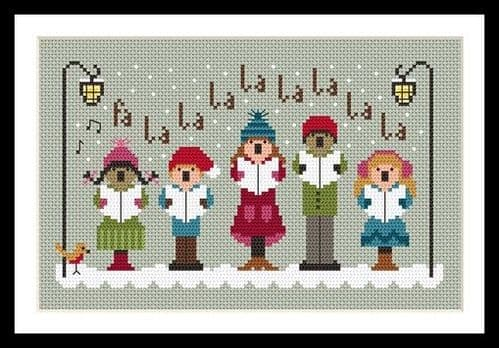 Little Dove Designs Tis the Season printed cross stitch chart